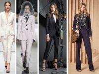 minimalista nadrágkosztüm